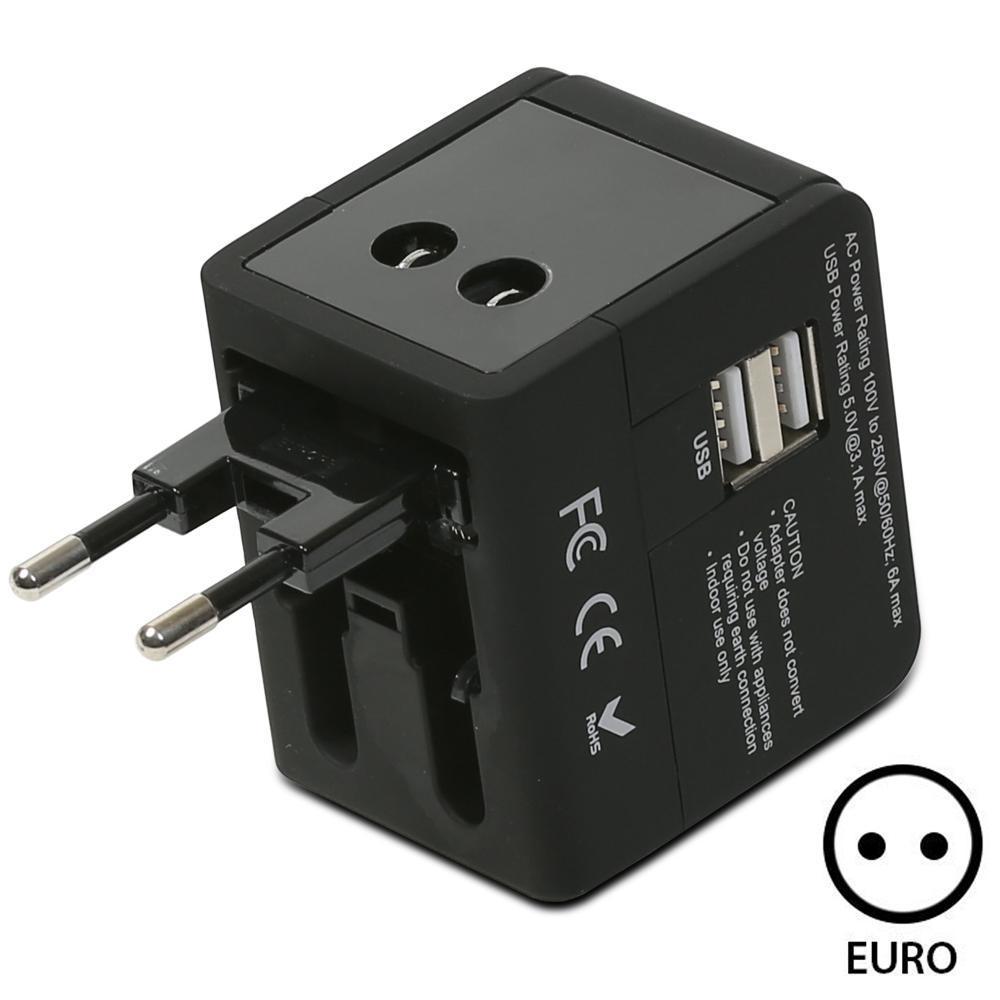 Fospower All In One International Power Adapter High