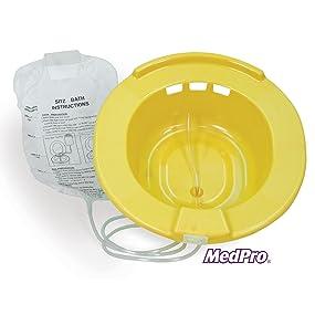 sitz bath, sitz bath tub, sitz bath at home, home sitz bath, medical supplies & equipment