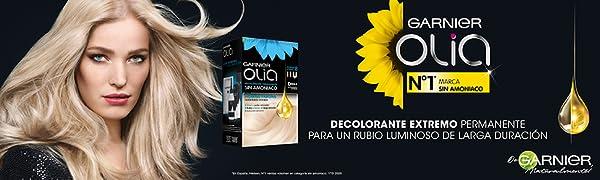 Garnier Olia - Decolorante Permanente sin Amoniaco, con Aceites Florales de Origen Natural - Decolorante Extremo D+++ Pack 2