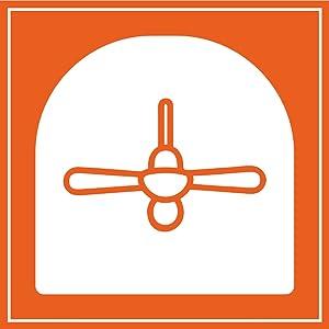 SPN-FOR1 Orient Electric Aerostorm 1320mm Premium Ceiling Fan (Charcoal Grey)