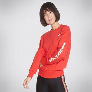 Skechers Women's Heritage Crewneck Sweatshirt