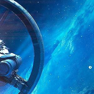 political intrigue, space battles