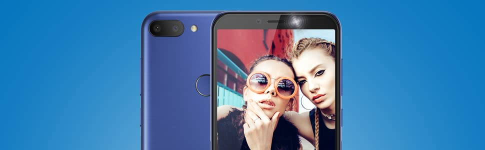 "Alcatel 1S 2019, 5.5"", 4G, 32 GB ROM + 3 GB RAM, Octa-Core, Metallic Black, Versione Italiana"