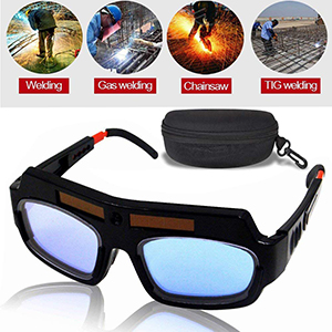 Solar Auto Darkening Welding Goggles Helmet Mask Tig Grinding Shield Glasses