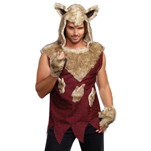 Why Buy Dreamgirl/Dreamguy Costumes?  sc 1 st  Amazon.com & Amazon.com: Dreamgirl Menu0027s Big Bad Wolf Costume: Clothing