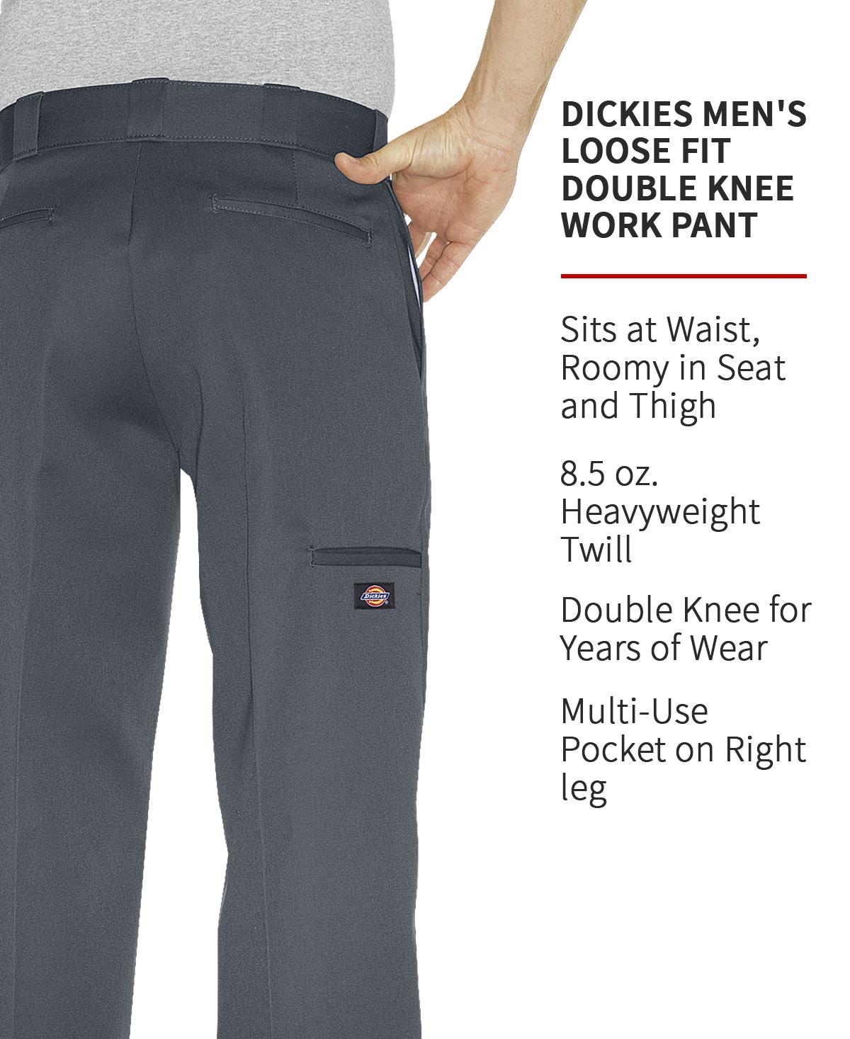 Amazon Com Dickies Men S Big Tall Loose Fit Double Knee Work Pant