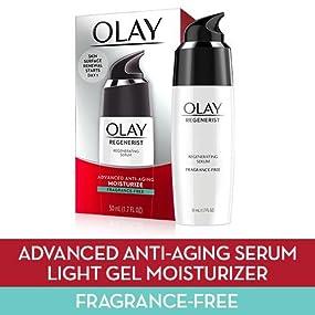 Olay, oil of olay, serum, anti-aging, fragrance-fee