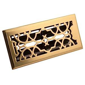 Accord Asfrsbv212 Victorian Design Floor Register 2 Inch