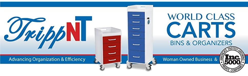 TrippNT, Storage, Carts