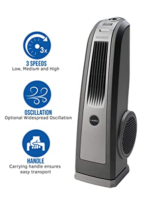 Lasko Space-Saving HVB™ Oscillating High Velocity Blower Fan