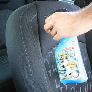 smacchiatore auto, smacchiatore spray, pulizia auto