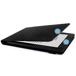 Auto Hibernação Capa Kindle WB Freedom preta