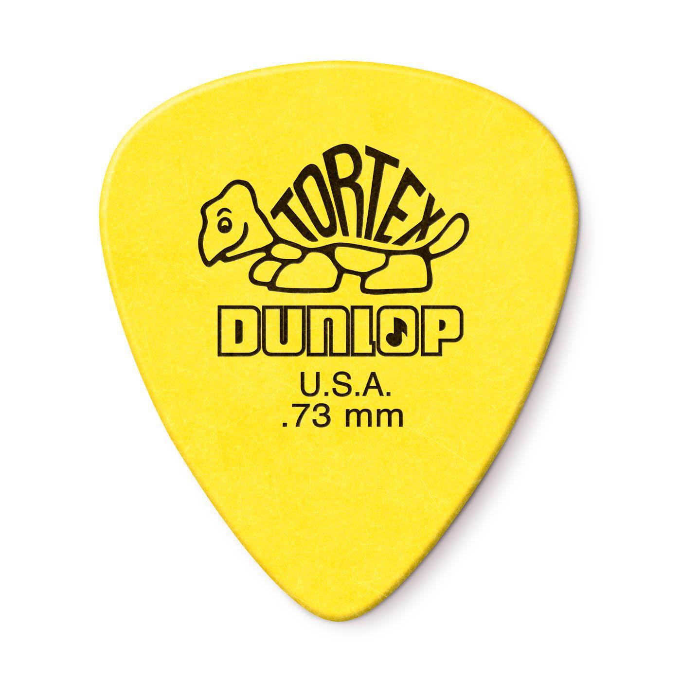 dunlop tortex  : Dunlop Tortex Standard .73mm Yellow Guitar Pick - 12 ...