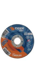 Tiger Zirc Grinding Wheels
