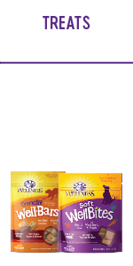 Grain free dry dog food, wellness complete health small breed, wellness large breed complete health