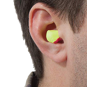 HOWARD LEIGHT LASER LITE EAR PLUGS 10 PAIRS INDIVIDUALY BAGGED FREE POSTAGE