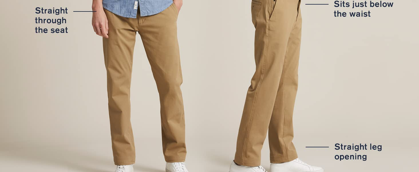Ultimate Chino Smart 360 Flex Straight fit photography