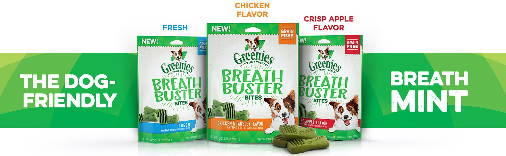 Amazon.com : Greenies BREATH BUSTER Bites Fresh Flavor