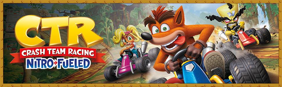 CrashTM Team Racing Nitro-Fueled (PS4): Amazon co uk: PC