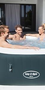 Bestway 54291 - Spa Hinchable Lay- Z-Spa Ibiza Para 4-6 personas ...
