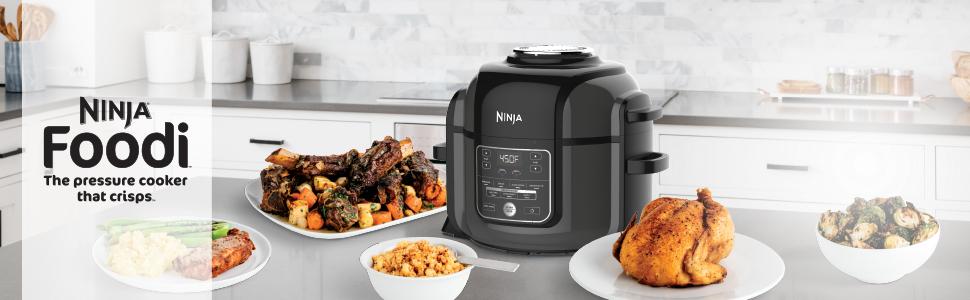 Ninja Foodi, Foodi, Pressure cooker, Multi Cooker, Air Fryer, Pressure Cooker that crisps