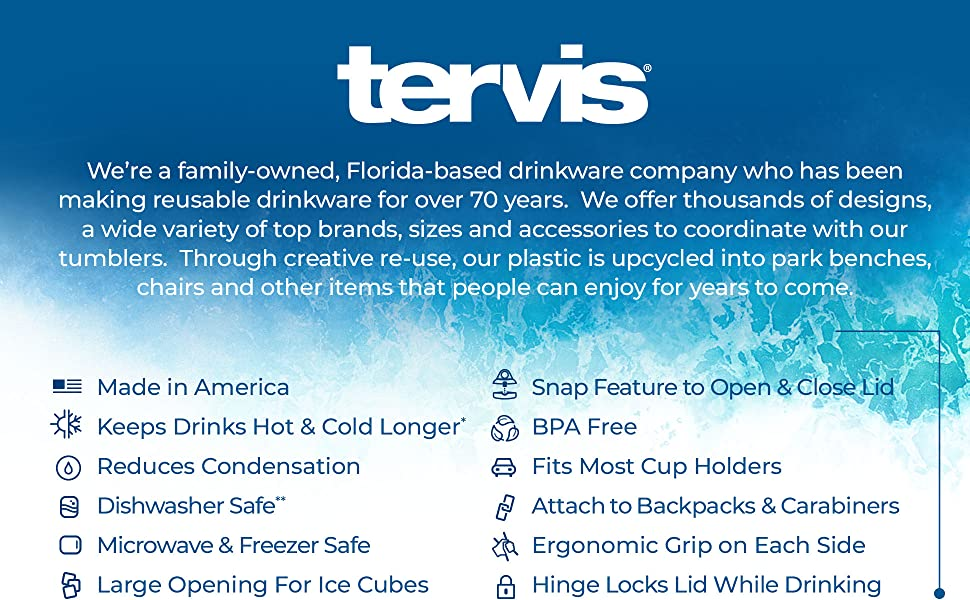 Tervis 24 oz Classic Water Bottle