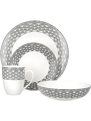 Harlequin plates and bowls