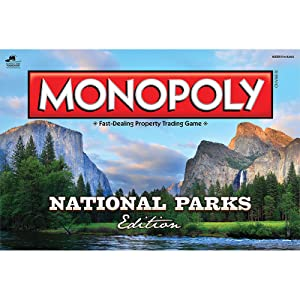 44a21da1fa4a9 Amazon.com  Monopoly National Parks Edition Board Game