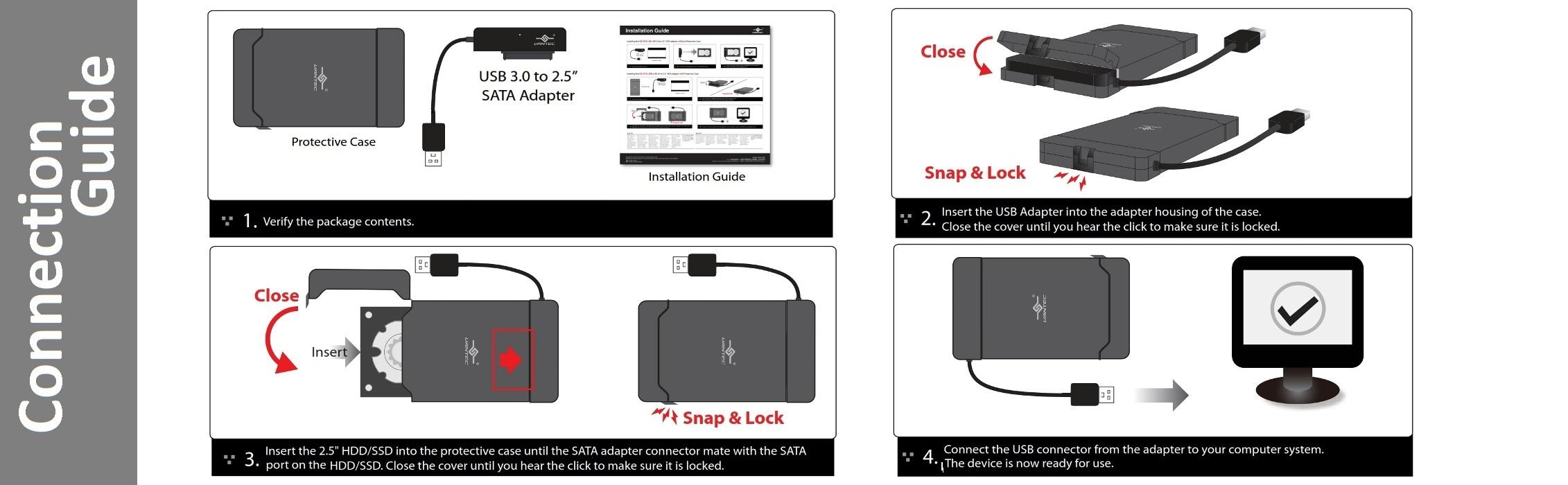 Sata To Usb Adapter Wiring Diagram Trusted Diagrams Amazon Com Vantec 3 0 2 5 Hdd With Case Cb Hard Drive