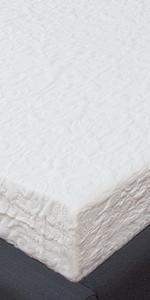 Classic Brands Cool Gel 4.5 Inch Gel Memory Foam Replacement Sofa Bed  Mattress, Queen