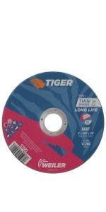 "5"" Tiger AO Cutting Wheels"
