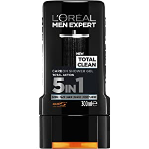 Total Carbon shower gel