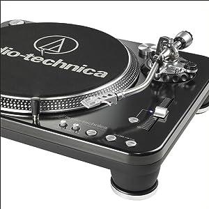Audio-Technica AT-LP1240-USB Direct-Drive Professional DJ Turntable (USB & Analog)
