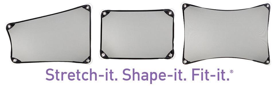 Dreambaby Adjusta-Car Shade Stretch-It Fit-It Shape-It