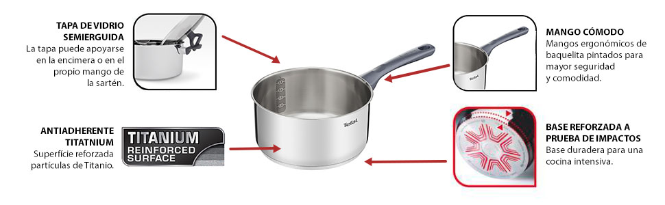 TEFAL DAILY COOK SET 11 PIEZAS DAILY COOK