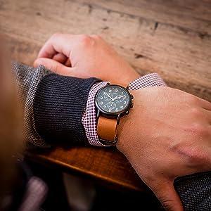 timex weekender chrono TW2P97500 nylon strap