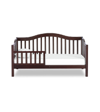 Dream On Me toddler bed,Austin Toddler Day Bed, White toddler bed, bed for baby, portable toddler
