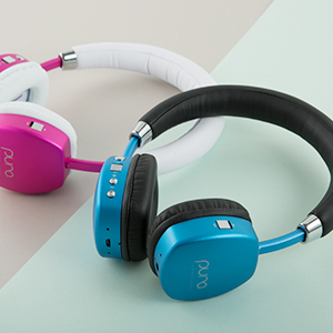 11fe1d47feb Puro Sound Labs PuroQuiet Over-Ear Active Noise Cancelling Headphones for  Kids/Teens/