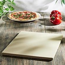 Levivo Piedra para pizza/piedra de horno de cordierita