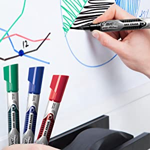 BIC - liquid ink level is visible in each marker's barrel