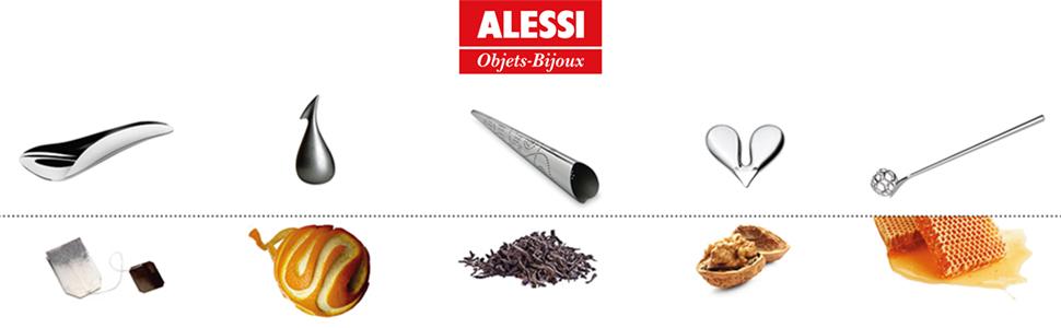 Alessi Collezione Objet Bijoux, accessori per la casa e oggetti di design made in italy