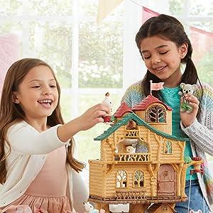 calico, dolls, dollhouses, figures, lil woodzeez, pretend play, collectible, imagination, animals