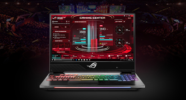 download asus gaming center