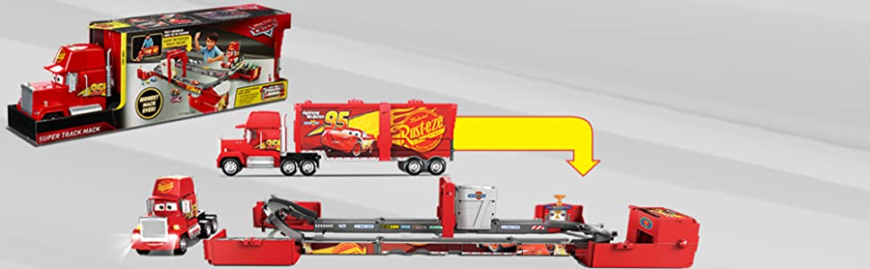 Disney Pixar Cars Super Track Mack Playset