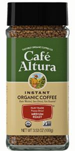 Cafe Altura Instant Organic Coffee