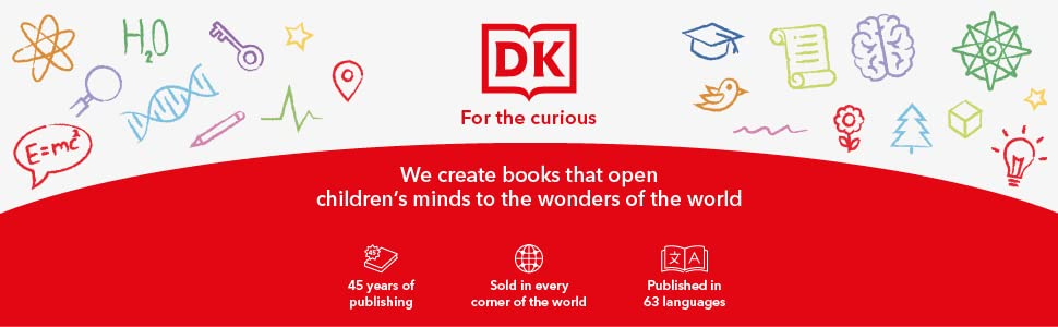 DK Books for children and kids entertainment