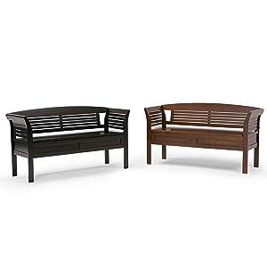 arlington entryway storage bench set