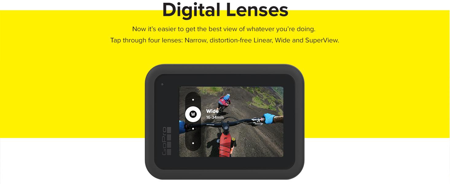 GoPro Hero 8 Digital Lenses with Back image