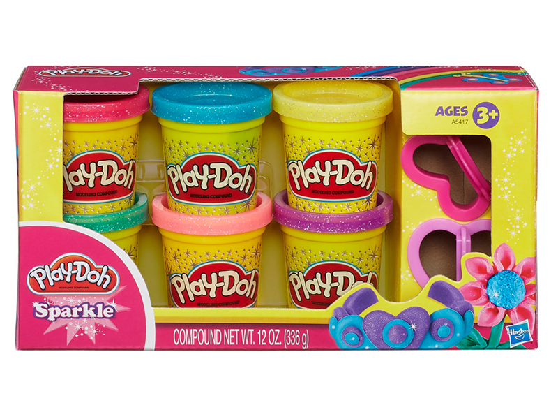 Play-Doh Sparkle Glitter Pack