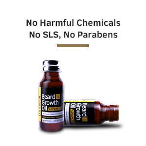 no harmful chemicals, chemical free beard oil, natural beard oil